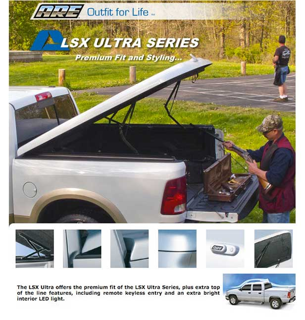 Sitemax Lsx Series Led: ARE Tonneau Covers