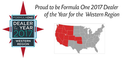 Formula One Dealer of the Year