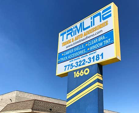 Trimline Sign