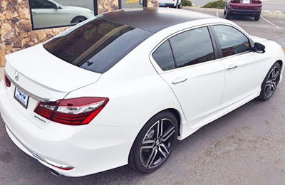 Honda Accord Tint and Wrap