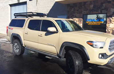 Tacoma ARE CX Shell with Yakima Rack