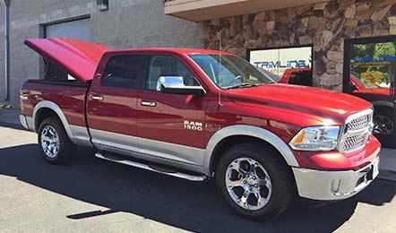 Dodge Tonneau Cover Side View