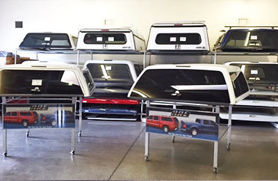 Trimline Camper Shell Showroom