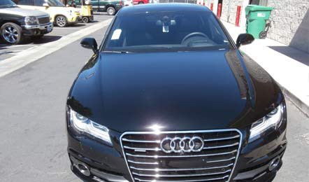Audi Clear Bra and Tint
