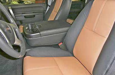 Brown Leather Front Seats