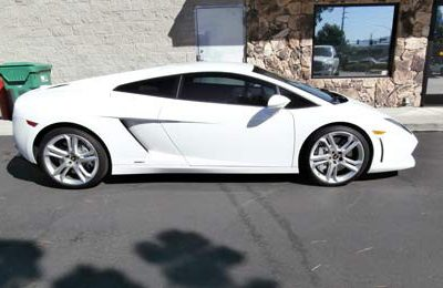 Sports Car Window Tint Side View