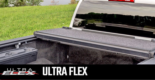Undercover Ultra Flex folding Tonneau Cover with Matte finish