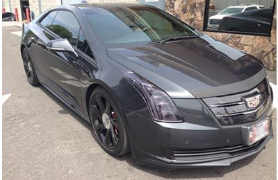 Cadillac Clear Bra and Tint 1