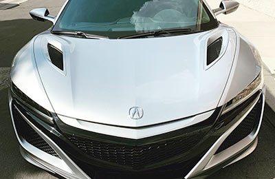 Acura NSX Bra-Tint 2