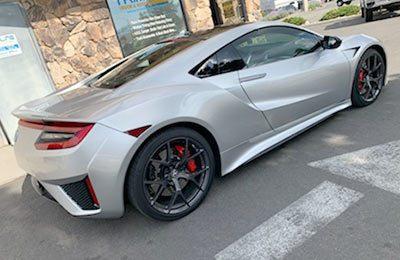 Acura NSX Bra-Tint
